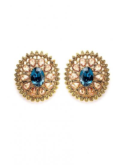 Crystal Stellar Earrings