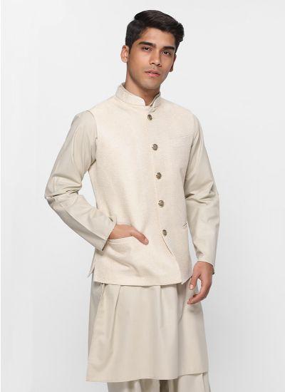 Grey Jute Waistcoat